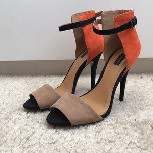 Zara collection by basic high heel sandal
